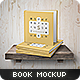 Square Book Mock-Up Set 3 - GraphicRiver Item for Sale