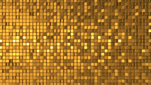 Golden Mosaic By What U See Videohive