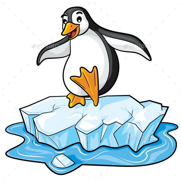 Penguin Cartoon by rubynurbaidi   GraphicRiver
