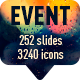 Event animated presentation