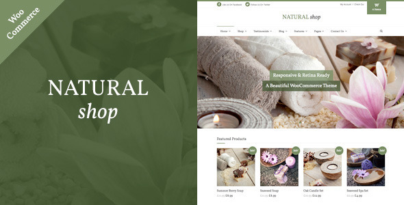 Natural Shop - Responsive WooCommerce Theme