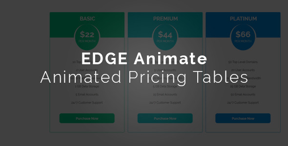 Edge Pricings - CodeCanyon Item for Sale