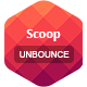 Scoop - Unbounce Template - ThemeForest Item for Sale