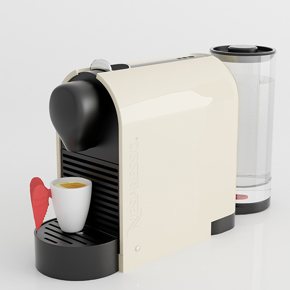 Nespresso Machine with Pylone cup - 3DOcean Item for Sale