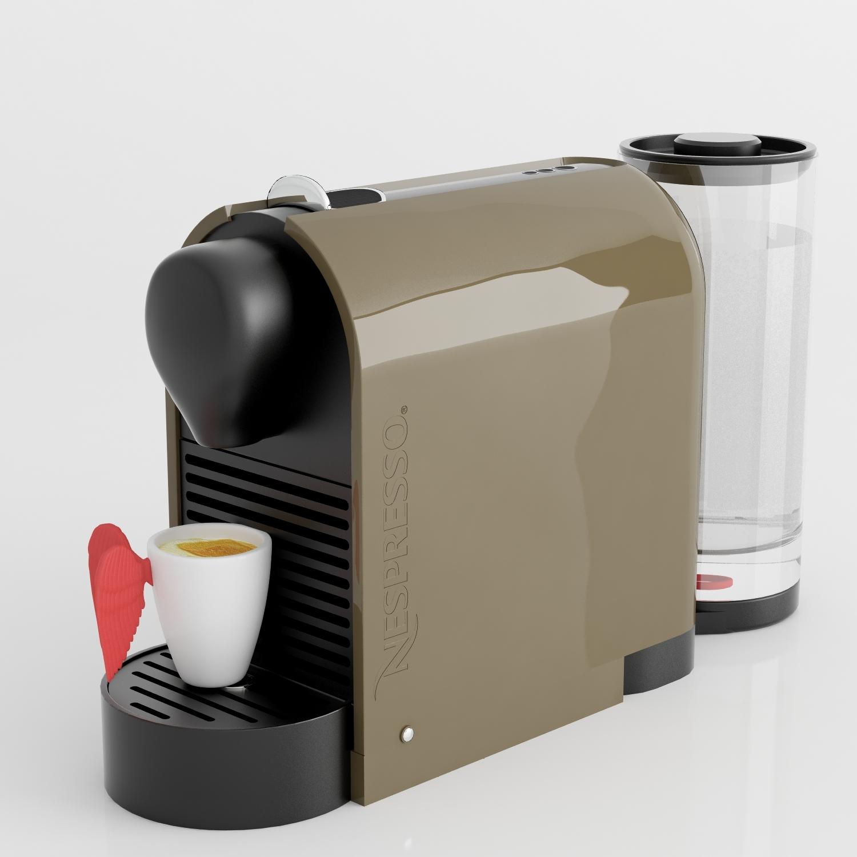 Nespresso U Machine Nespresso Machine With Pylone Cup By Pinguimcg 3docean