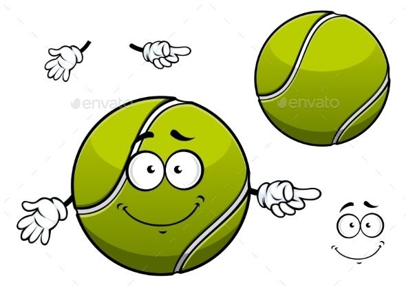 Tennis ball cartoon gallery diagram writing sample and guide tennis ball cartoon by seamartini graphicriver tennis ball cartoon characters vectors sciox gallery sciox Gallery