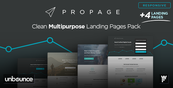 ProPage - Multipurpose Unbounce Template - Unbounce Landing Pages Marketing