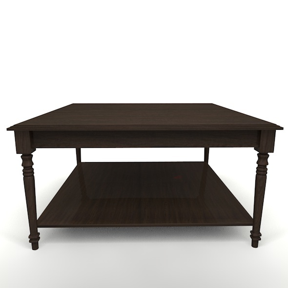 Classic Table - 3DOcean Item for Sale