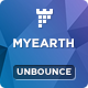 MyEarth - Nonprofit Unbounce Landing Page Template Nulled
