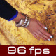 Woman Hand Touching Temple Wall - VideoHive Item for Sale