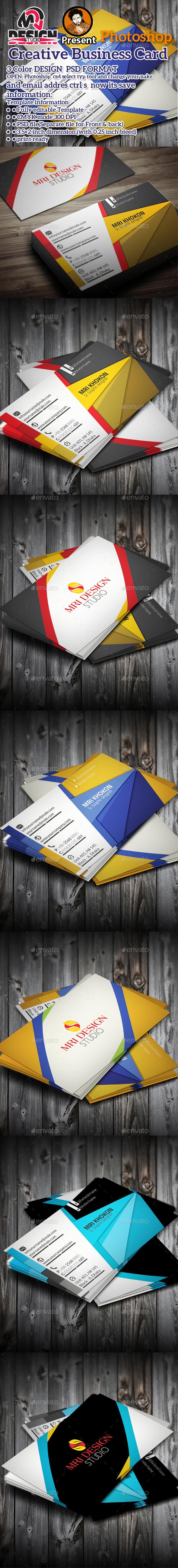 Corporat Business Card - Business Cards Print Templates