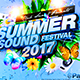 Summer Sound Festival - GraphicRiver Item for Sale
