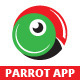 Parrot App Logo Template - GraphicRiver Item for Sale