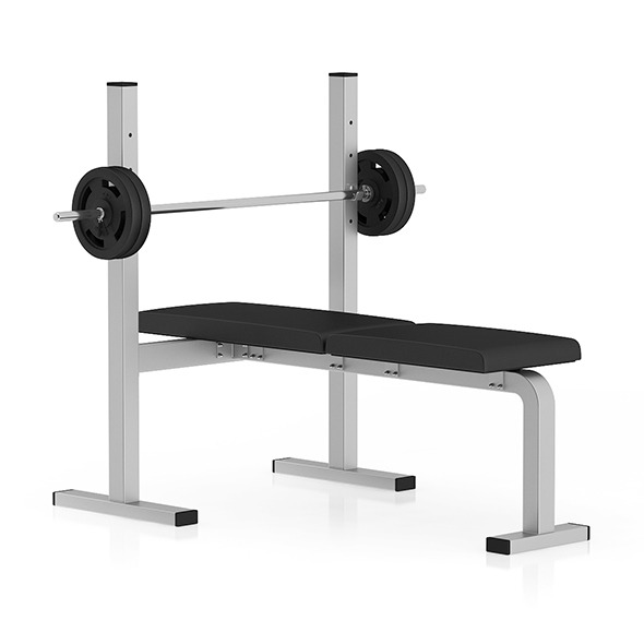 Flat Weight Bench - 3DOcean Item for Sale