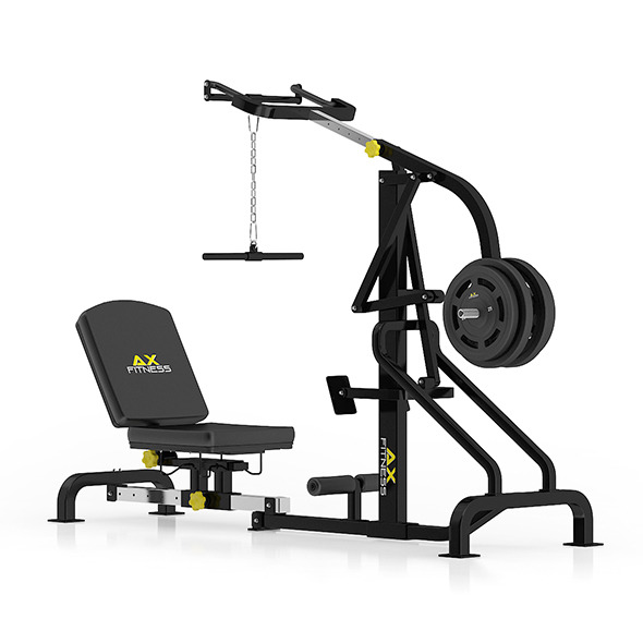 Lever Gym Machine - 3DOcean Item for Sale