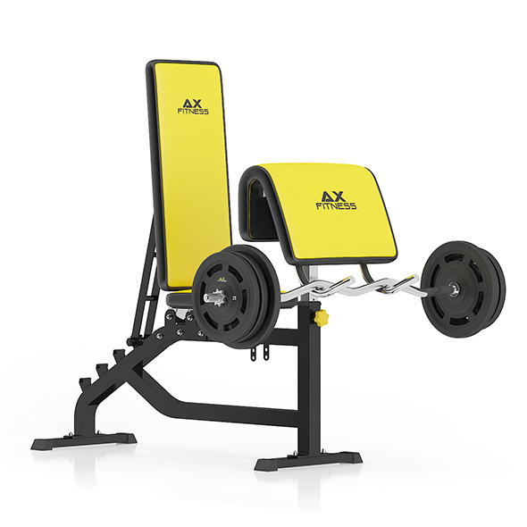 Arm Curl Bench - 3DOcean Item for Sale