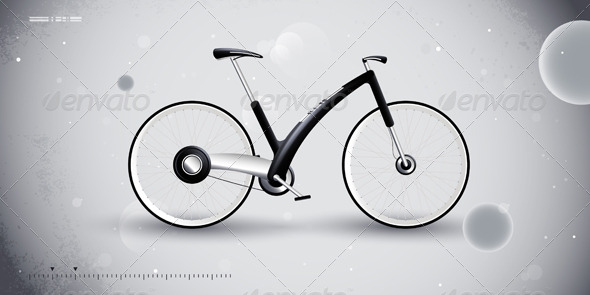 Concept bike for urban transportation - Sports/Activity Conceptual
