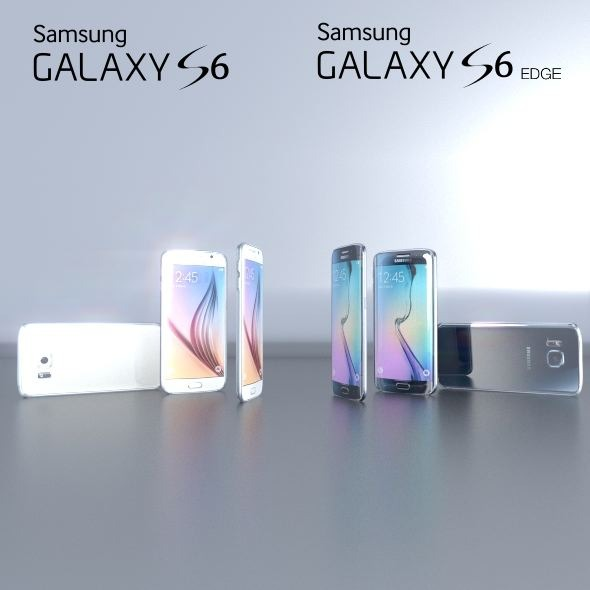 Sansung Galaxy S6 and S6 Edge (together) - 3DOcean Item for Sale