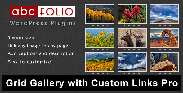 Grid Gallery with Custom Links Pro        - CodeCanyon Item for Sale