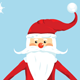 Santa Christmas Card - GraphicRiver Item for Sale