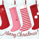 Socks Christmas Card - GraphicRiver Item for Sale