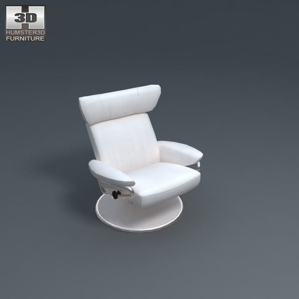 Jazz armchair - Ekornes Stressless - 3D Model.