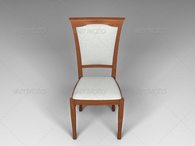 diningroom chair - 3DOcean Item for Sale