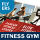 Fitness Gym Flyers – 4 Options - GraphicRiver Item for Sale