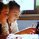 Girls Play Laptop - VideoHive Item for Sale