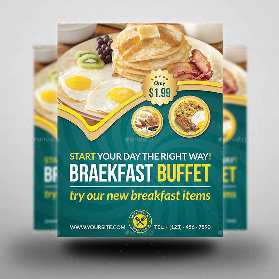 breakfast flyer template thevillas co