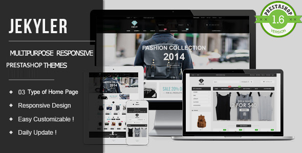 Image of Jekyler - Multipurpose Responsive PrestaShop Theme