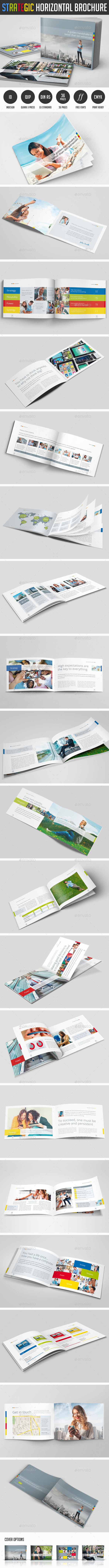 Strategic Horizontal Brochure - Corporate Brochures