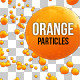 4 Isolated Orange Particles - GraphicRiver Item for Sale