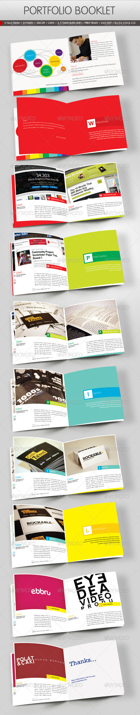 Portfolio Booklet - Portfolio Brochures