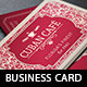 Vintage Cafe Business Card Template - GraphicRiver Item for Sale
