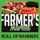 Farmer's Market Commerce Roll Up Banners - GraphicRiver Item for Sale