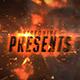 Dark Fire Cinematic Intro - VideoHive Item for Sale