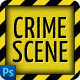 Crime Scene - Coming Soon Page - GraphicRiver Item for Sale
