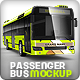 Passenger bus, Coach bus mock-up - GraphicRiver Item for Sale