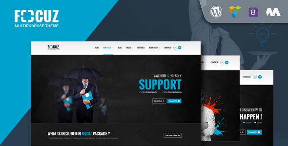 Focuz – Multipurpose WordPress Theme
