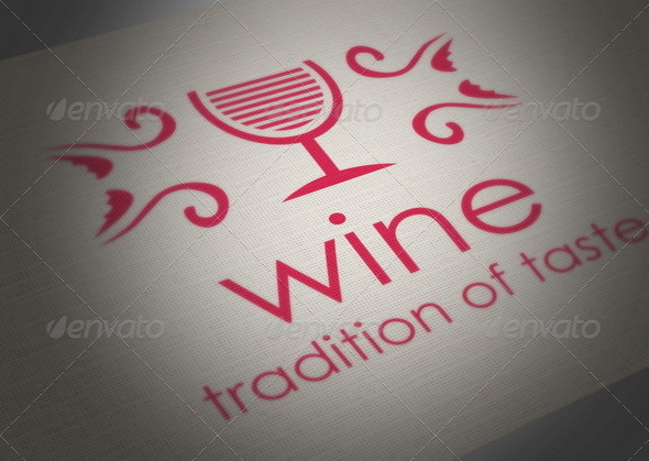 Wine Logo - Crests Logo Templates