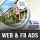 Real Estate Web & Facebook Banners Ads - GraphicRiver Item for Sale