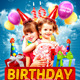 Kids Birthday Party Flyer Template - GraphicRiver Item for Sale