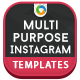 Multipurpose Instagram Banners - GraphicRiver Item for Sale