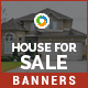 House For Sale Banners - GraphicRiver Item for Sale