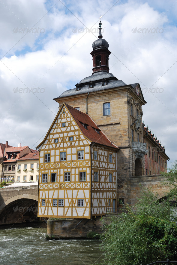 Old town hall Bamberg - Stock Photo - Images