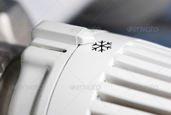 Themosat turned off - Stock Photo - Images