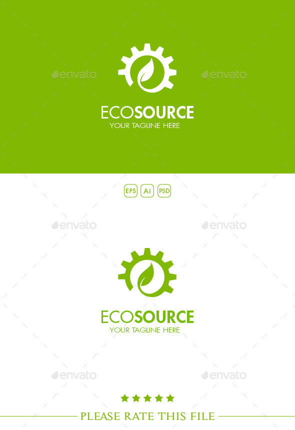Gear Logo - Nature Logo Templates