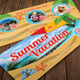 Travel Summer Vacation Gift Voucher 28 - GraphicRiver Item for Sale