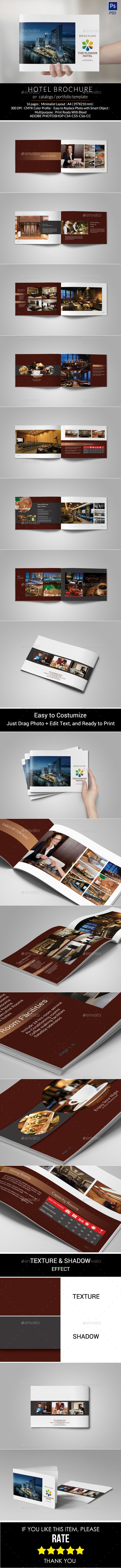 Hotel Brochure Graphics, Designs & Templates from GraphicRiver